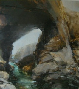 Sarah Adams, Maas Gallery 2007, Porthcothan 1: morning, oil on linen